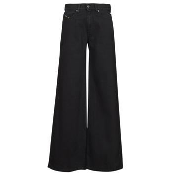 Oblačila Ženske Kavbojke bootcut Diesel D-AKEMI Črna