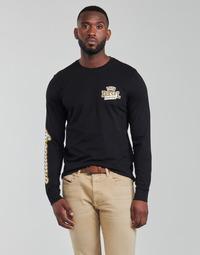 Oblačila Moški Majice z dolgimi rokavi Diesel T-DIEGOS-LS-K27 Črna