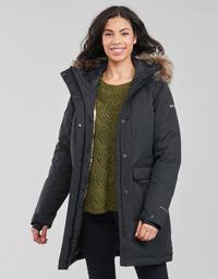Oblačila Ženske Parke Columbia LITTLE SI INSULATED PARKA Črna