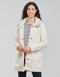 Oblačila Ženske Plašči Columbia PANORAMA LONG JACKET Bela