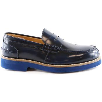 Čevlji  Moški Mokasini Exton 2102 Modra