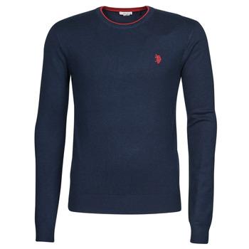Oblačila Moški Puloverji U.S Polo Assn. ALF 53147 EH03 Modra
