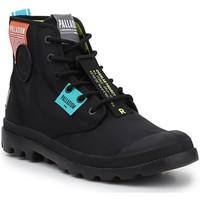 Čevlji  Visoke superge Palladium Manufacture Lite OVB Neon U 77082-008 black