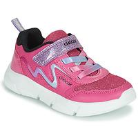 Čevlji  Deklice Nizke superge Geox ARIL Rožnata / Vijolična