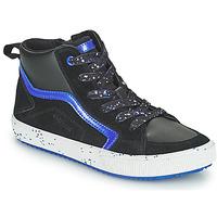 Čevlji  Dečki Visoke superge Geox ALONISSO Črna