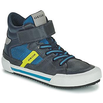Čevlji  Dečki Visoke superge Geox ALONISSO Modra