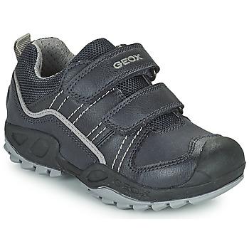 Čevlji  Dečki Polškornji Geox SAVAGE Modra