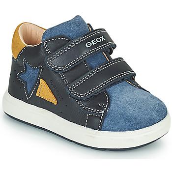 Čevlji  Dečki Nizke superge Geox BIGLIA Modra