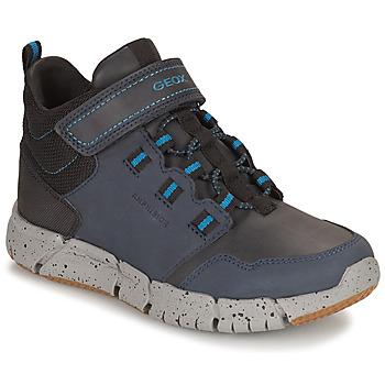 Čevlji  Dečki Polškornji Geox FLEXYPER ABX Modra