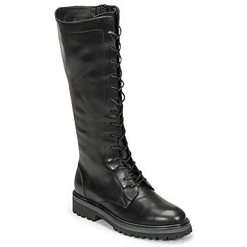 Čevlji  Ženske Mestni škornji    Myma TATANI Črna