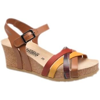 Čevlji  Ženske Sandali & Odprti čevlji Mephisto MEPHLANNYcamel marrone