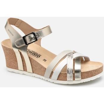 Čevlji  Ženske Sandali & Odprti čevlji Mephisto MEPHLANNYgold marrone