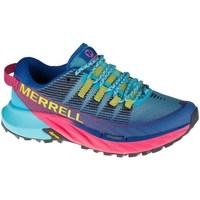 Čevlji  Ženske Nizke superge Merrell Agility Peak 4 Trail Modra, Svetlo modra, Roza