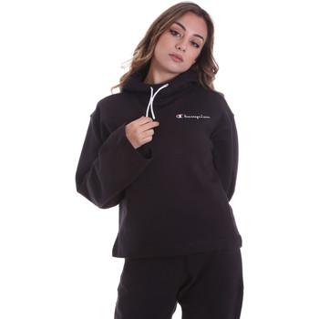Oblačila Ženske Puloverji Champion 113186 Črna