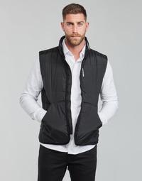 Oblačila Moški Puhovke Calvin Klein Jeans PADDED VEST Črna