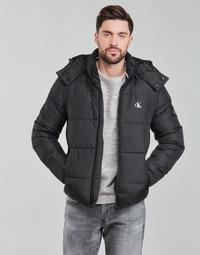 Oblačila Moški Puhovke Calvin Klein Jeans ESSENTIALS NON DOWN JACKET Črna