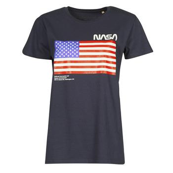 Oblačila Majice s kratkimi rokavi Yurban ONASA Modra