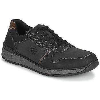 Čevlji  Moški Čevlji Derby Rieker FOLLON Črna