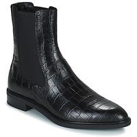 Čevlji  Ženske Polškornji Vagabond Shoemakers FRANCES Črna