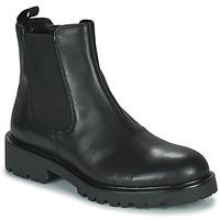 Čevlji  Ženske Polškornji Vagabond Shoemakers KENOVA Črna