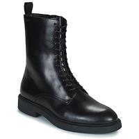 Čevlji  Ženske Polškornji Vagabond Shoemakers ALEX W Črna