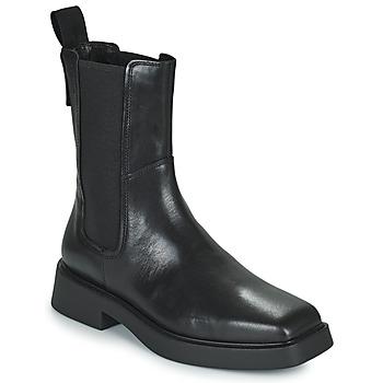 Čevlji  Ženske Polškornji Vagabond Shoemakers JILLIAN Črna