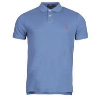 Oblačila Moški Polo majice kratki rokavi Polo Ralph Lauren PETRINA Modra
