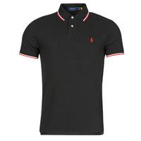 Oblačila Moški Polo majice kratki rokavi Polo Ralph Lauren CALMIRA Črna