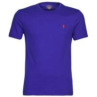 Oblačila Moški Majice s kratkimi rokavi Polo Ralph Lauren SOPELA Modra