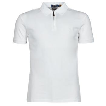 Oblačila Moški Polo majice kratki rokavi Polo Ralph Lauren BATTYNA Bela