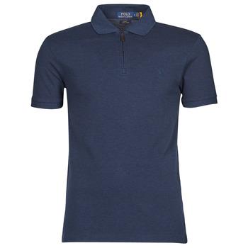 Oblačila Moški Polo majice kratki rokavi Polo Ralph Lauren BATTYNA Modra