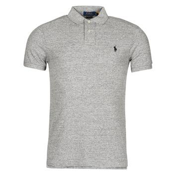 Oblačila Moški Polo majice kratki rokavi Polo Ralph Lauren DOLINAR Siva