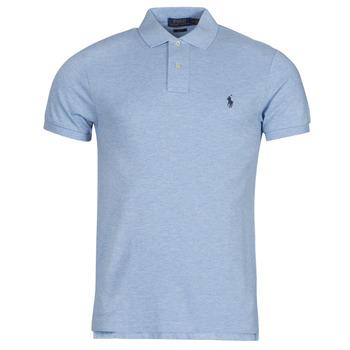 Oblačila Moški Polo majice kratki rokavi Polo Ralph Lauren DOLINAR Modra