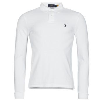 Oblačila Moški Polo majice dolgi rokavi Polo Ralph Lauren TREKINA Bela