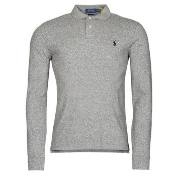 Oblačila Moški Polo majice dolgi rokavi Polo Ralph Lauren TREKINA Siva