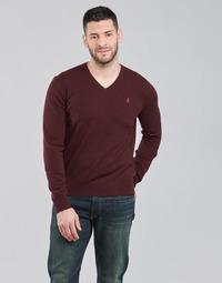 Oblačila Moški Puloverji Polo Ralph Lauren SOLIMMA Bordo