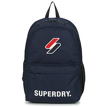 Torbice Nahrbtniki Superdry SUPERDRY CODE MONTANA Modra
