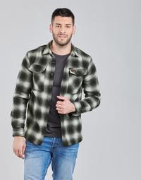 Oblačila Moški Jakne Superdry Wool Miller Overshirt Črna