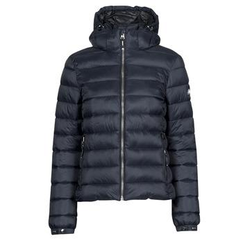 Oblačila Ženske Puhovke Superdry CLASSIC FUJI PUFFER JACKET Modra