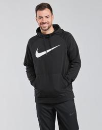 Oblačila Moški Puloverji Nike NIKE DRI-FIT Črna
