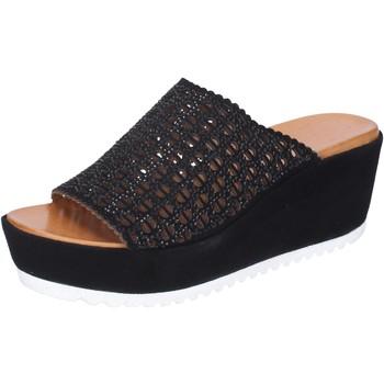 Čevlji  Ženske Natikači Femme Plus BJ890 Črna