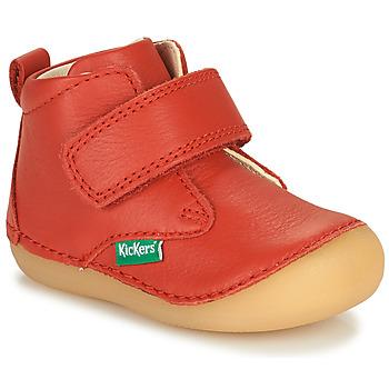 Čevlji  Otroci Polškornji Kickers SABIO Rdeča