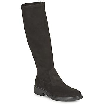 Čevlji  Ženske Mestni škornji    Unisa EDANA Črna