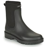 Čevlji  Ženske škornji za dež  Unisa AYNAR Črna