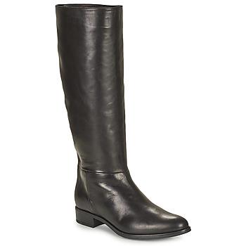 Čevlji  Ženske Mestni škornji    Unisa BLEND Črna