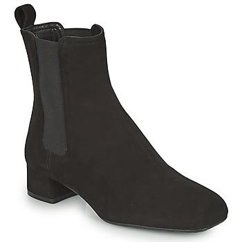 Čevlji  Ženske Gležnjarji Unisa GUSO Črna