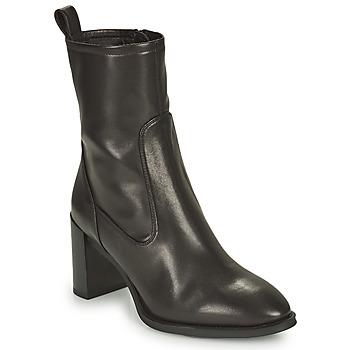 Čevlji  Ženske Gležnjarji Unisa UNTIL Črna