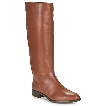 Čevlji  Ženske Mestni škornji    Unisa BLEND Kamel