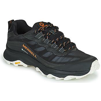 Čevlji  Moški Pohodništvo Merrell MOAB SPEED GTX Črna