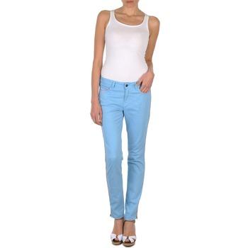 Oblačila Ženske Hlače s 5 žepi Brigitte Bardot AUBE Modra